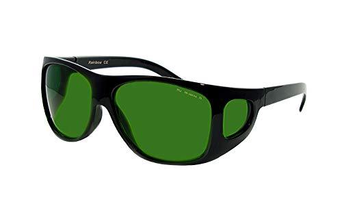 Rainbow safety Gafas Protección para Depilación IPl y HPL Accesorios Luz Pulsada Intensa 190-1800nm Filtro F4 (RS-IPL4)