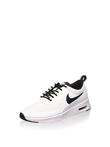 Nike Women's Air Max Thea Low-Top Sneakers, Off White (White/black), 3.5 UK (36.5 EU)