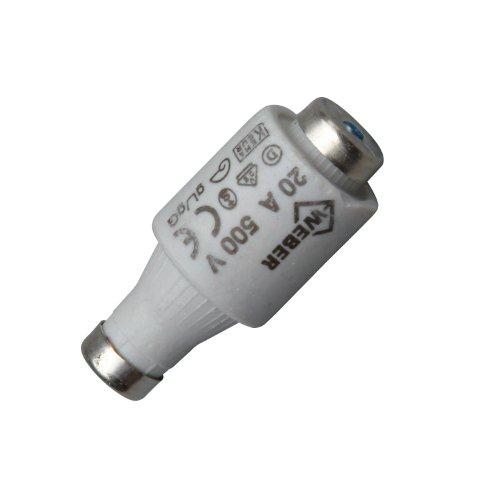 Kopp Sicherungseinsatz Diazed DII, 5 Stück in SB-Verpackung, E27, 20 A, 325400086