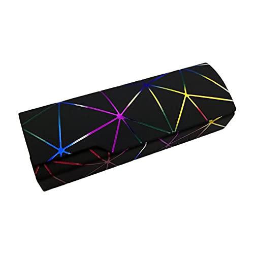 tubc Caja de Gafas de Lectura óptica Unisex Moda para Hombres y Mujeres Caja de Gafas Caja de protección Gafas de Sol Accesorios Negro