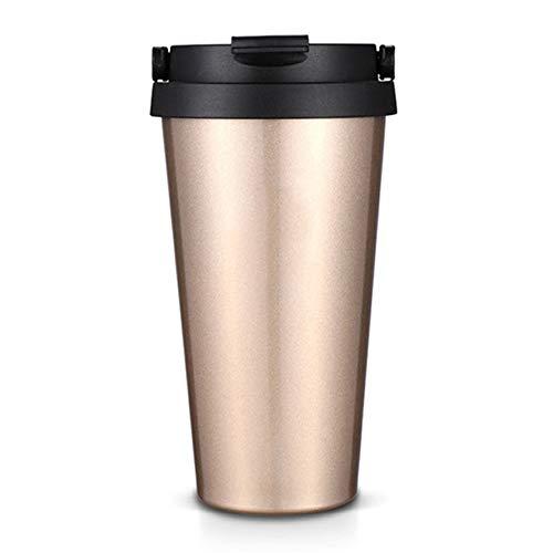 Geïsoleerde roestvrijstalen reismok, vacuüm koffiekop, met deksels en stro dubbelwandig water voor thuis, op kantoor, buiten werkt Drankjes Warme drank