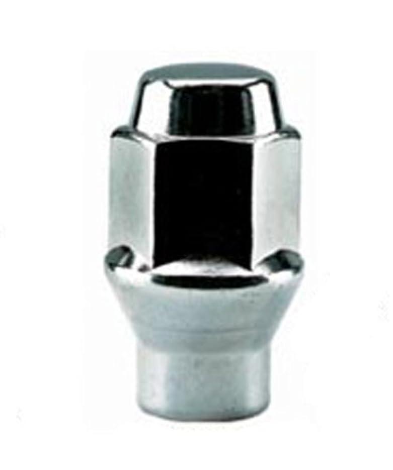 White Knight 7806-4 Chrome ET Bulge Lug Nut - 4 Piece
