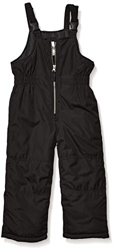 Carter's Boys' Little Snow Bib Ski Pants Snowsuit, Blackest, 5/6