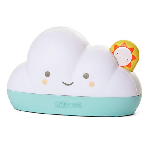 Skip Hop Sleep Training Alarm Clock for Toddlers, Dream & Shine Cloud
