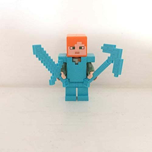 maisterkaio-de Lego Figur Alex -- Minecraft -- (aus Set 21154, mit anderem Lego Kompatibel)