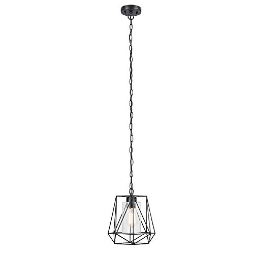 Globe Electric 44299 Sansa 1-Light Outdoor/Indoor Pendant,...