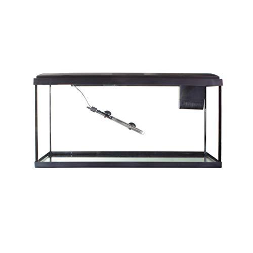 Interpet Grundausstattung für Aquatropic Aquarien, Inklusive Aquarium, Deckel mit Beleuchtung, Filter und Heizung, Tropisches 110-Liter-Aquarium