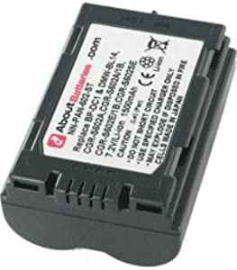 Battery type PANASONIC CGR-S602A 1B  7 2V  1500mAh  Li-Ion...