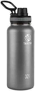 takeya Originals vacuum-insulated 不锈钢水瓶 石墨色 32盎司