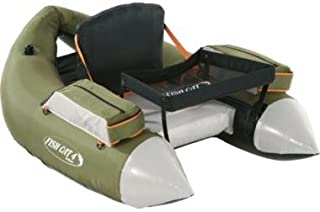 Outcast Fish Cat 4 Deluxe Float Tube - Olive with Free $20 Gift Card