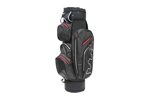 Golf Copenhagen Alma - Sacca da golf 100% impermeabile, nero - rosso