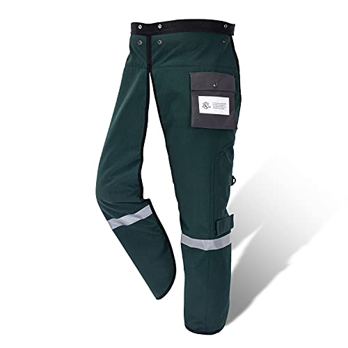 YARDMARIS Chainsaw Chaps Technical 8 Layers Class B for Chainsaw Users