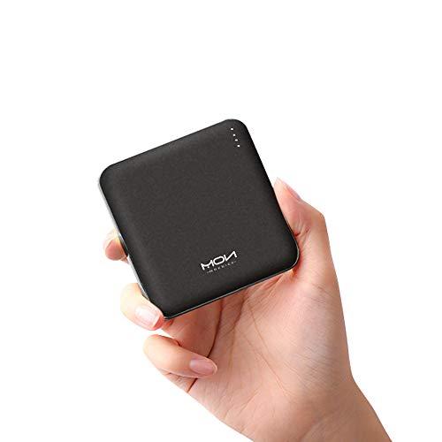 モバイルバッテリー 小型 軽量 薄型10000mAh 大容量 PD18W QC3.0【Type-C入出力ポート/Power Delivery対応/Quick Charge3.0対応/PSE認証済】 iPhone/iPad/Android等各種対応 (ブラック)