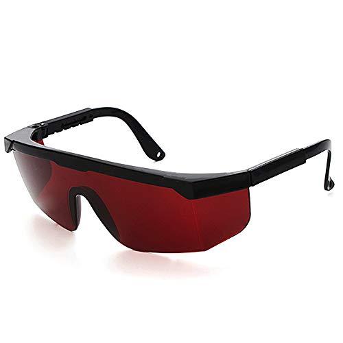 Eyewear Schutzbrille, Schutzbrille, Schutzbrille, IPL, Beauty-Equipment, für Ärzte, Krankenschwestern und Lasertechniker - rot
