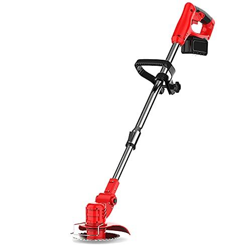 CHARON Desbrozadora Electrica 36V 16000mAh, Trimmer Edger Kit Pruning Herramientas con Reemplazo BateríA para el Mantenimiento del jardín