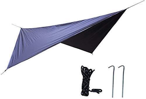 WXCCK hangmat met muskietennet hangmat Tarp - Ultralight Parachute Nylon 300Kg, Winddicht Regendicht Outdoor Rugzak Wandelen Reizen