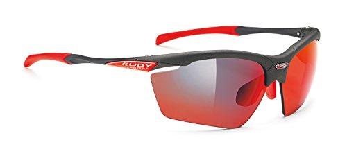 Rudy Project Agon Glasses Graphite - rp Optics multilaser red 2019 Fahrradbrille