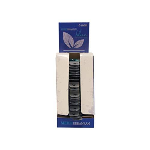 Rampi 20 Blue - Igien Profumatore Deodorante Cassetti Armadi Auto Scarpiere per Armadi Tessuti Capi Interni Ambienti Fragranza Cialde Capsule Durata Sei Mesi a Rilascio Graduale - 20 Pezzi