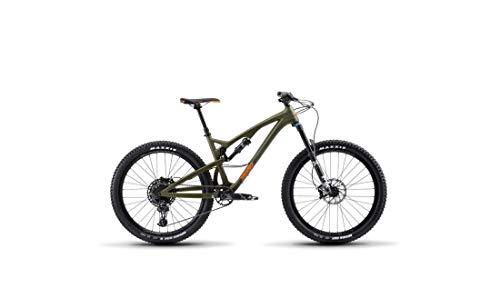 Release 4C Carbon - Bicicleta de montaña con suspensión Completa, Color Plateado, 19/LG