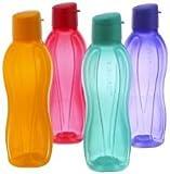 Botella de agua de 1 litro, juego de 4 unidades, de Tupperware