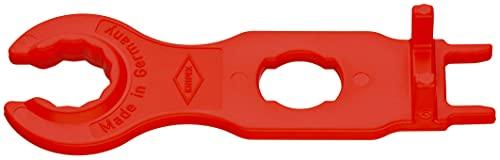 KNIPEX 97 49 66 2 Montagewerkzeug-Set für Solar-Steckverbinder MC4 (Multi-Contact) 115 mm