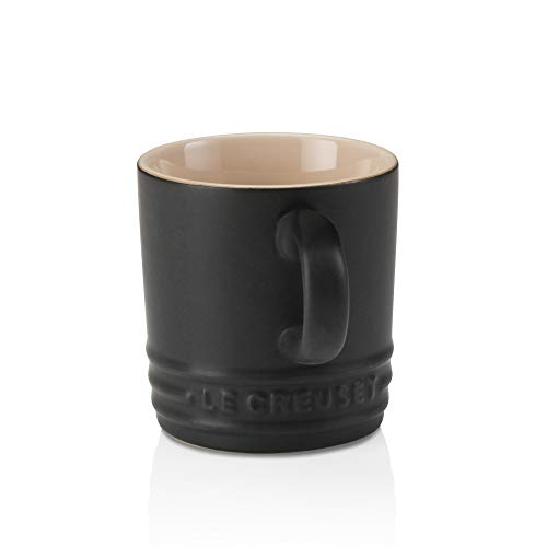 Le Creuset Stoneware Espresso Mug, 3 oz., Licorice