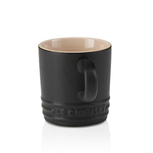 Le Creuset Espresso-Tassen, 100 ml, Steinzeug, Schwarz