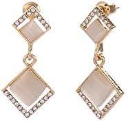 Glitziest Geometric Shape Fashion Earring Jackets Jewelry Gift for Women Girls