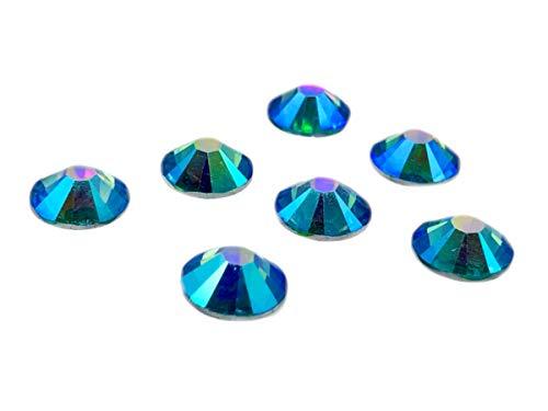 100Unidades EIMASS® resina espalda plana, redonda, No HotFix, brillantes cristales, gemas, tamaño grande, color, talla