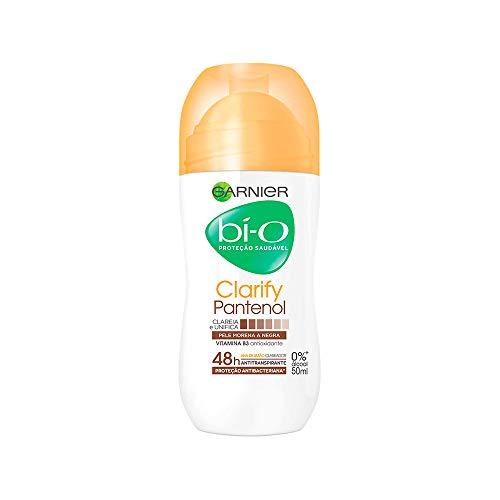 Desodorante Bí-O Clarify Pele Morena Roll-On, 50 ml, Garnier, Garnier, Branco