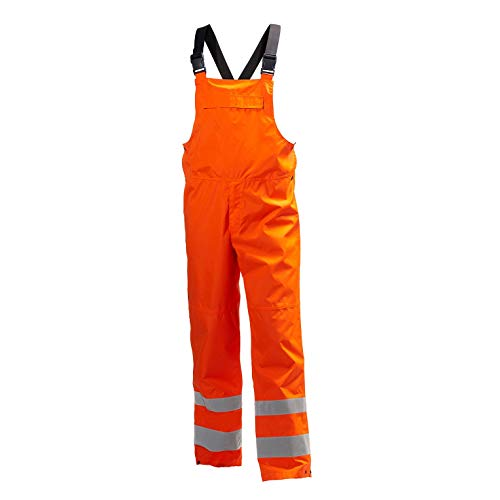 Helly-Hansen Men s Workwear Alta Shelter Bib Pant, Hi Viz Orange - X-Large