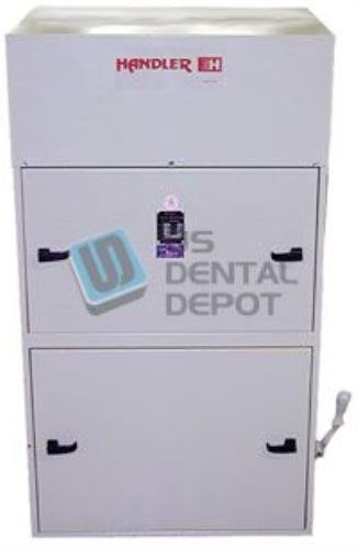 #101 HANDLER - Dust Collector 1HP - with cotton cloth filter Bags [H# 103501 Us Dental Depot