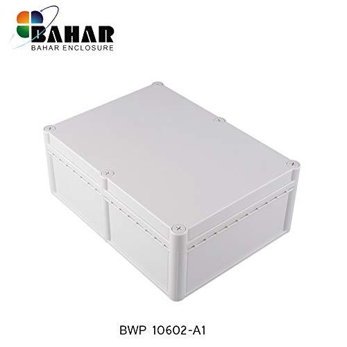 Bahar Enclosure Kunstoffgehäuse Wasserdichte Anschlussdose Weiß Gehäuse Junction Box IP68 Waterproof Enclosure Transparent Durchsichtig Deckel Sichtdeckel Kunststoffgehäuse Plastik