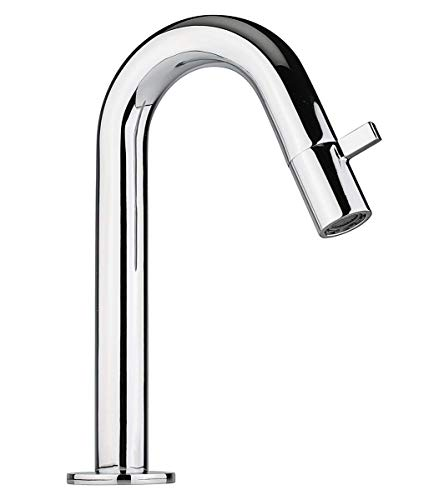 ATCO® CAIRO Kaltwasser Armatur Kaltwasserhahn Standventil Waschtischarmatur Wasserhahn Waschtisch Ventil Einhebel Gäste-WC chrom