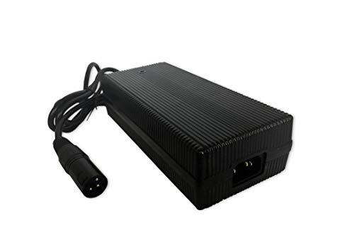 Q-Batteries BL 24-5 - Cargador con Conector XLR para baterías de Plomo (24 V - 5 A, Corriente de Carga IU0U, línea de Carga)