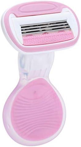 Handmatig haarscheerapparaat voor vrouwen Haarverwijderingsscheerapparaat Handmatig scheerapparaat voor lichaamshaar Vierlaagse haarlekkage voor ontharing van meerdere lichaamsdelen voor