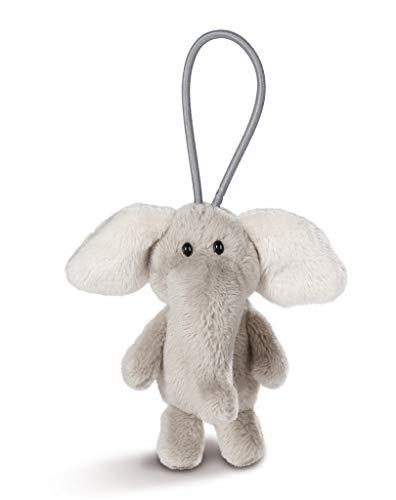 NICI 43616 Anhänger Elefant mit elastischer Schlaufe, 8 cm, grau
