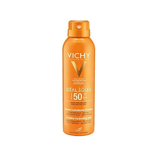 VICHY Idéal Soleil Transparentes Sonnenspray LSF 50, 200 ml Lösung