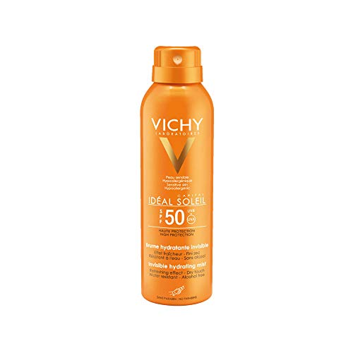 Vichy Idéal Soleil Transparentes Sonnenspray SPF 50, 200 ml Spray