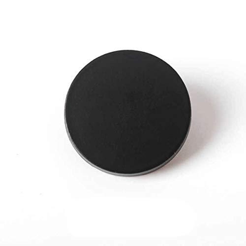 Jksdp 10Pcs 11 30mm Oro/Argento/Nero Vintage Antico Blazer Bottone in Metallo per Blazer, Abiti, Cappotto Sportivo, Uniforme, Nero, 20mm