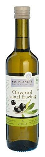 Bio Planete Bio Olivenöl mittel fruchtig, nativ extra (1 x 500 ml)