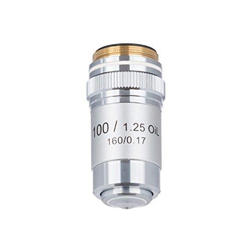 AmScope A100X-V300 100X (Öl) Achromatisches Mikroskop-Objektiv für Verbundmikroskope