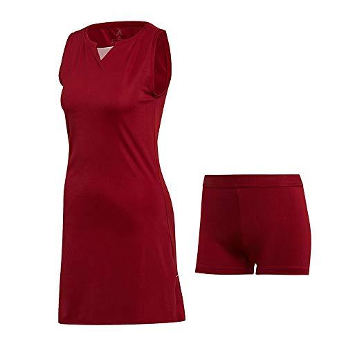 adidas Club Dress Vestido, Mujer, Buruni, L
