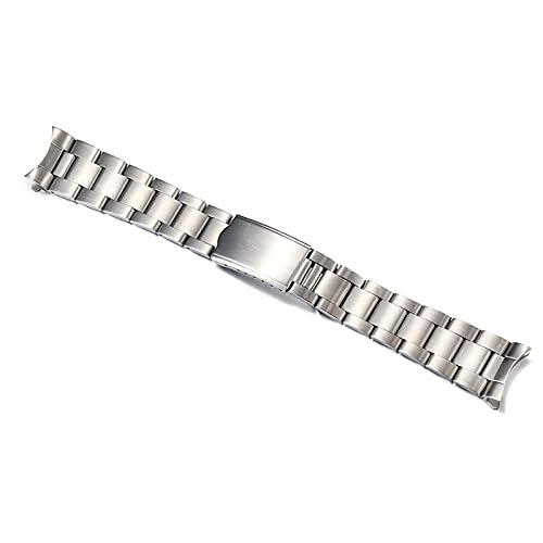 TNSYGSB Correa de acero inoxidable, 18 mm, 19 mm, 20 mm, acero inoxidable sólido con correas de reloj de pulsera (color: 20 mm)