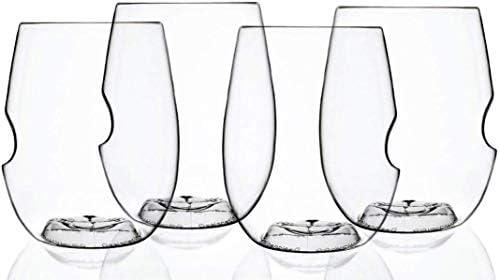 Govino Go Anywhere Dishwasher Safe Flexible Shatterproof Recyclable Wine Glasses 16 ounce Set product image