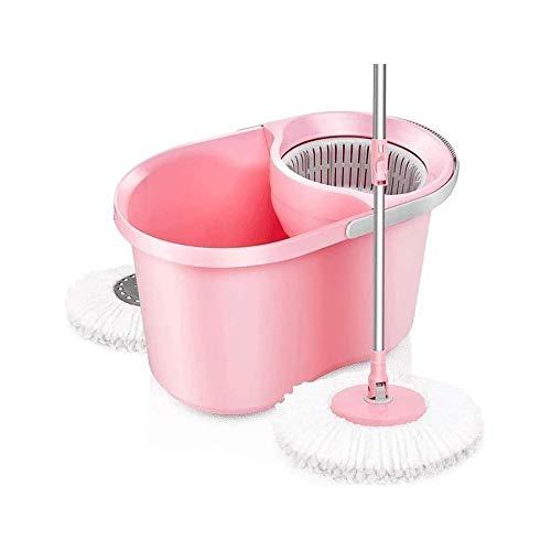 UNU_YAN La Simplicidad de Spin Mop Moderno Auto Escurrir Spinning fregonas de Microfibra Lavable de la fregona fácil de Usar y Tienda de Spin Mop Bucket