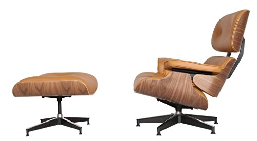 EMODERN FURNITURE eMod - Mid Century Plywood Eames Lounge Chair & Ottoman...