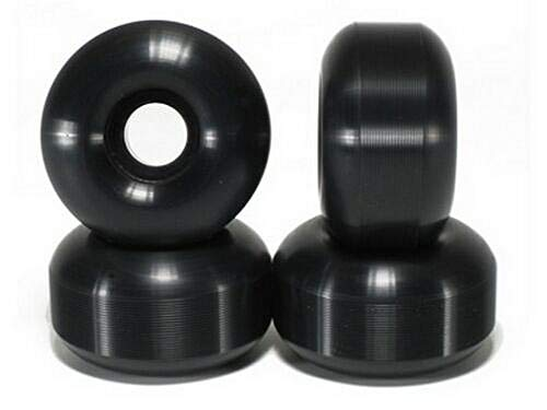 Blank Wheels/Skateboard Rollen Schwarz 52mm (99a) Set 4 STK Black Made in USA! (+ Vamos Sticker)