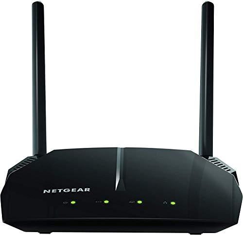 NETGEAR Routeur WiFi (R6120), AC1200, 4 Ports Ethernet, 1 Port USB, Vitesse jusqu'à 1.2 Gbit/s, Couverture jusqu'à 90 m² et 20 appareils, contrôle parental