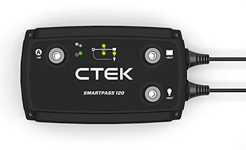 CTEK SmartPass120 : système de contrôle de puissance de 120A pour camping-car avec batterie 12V